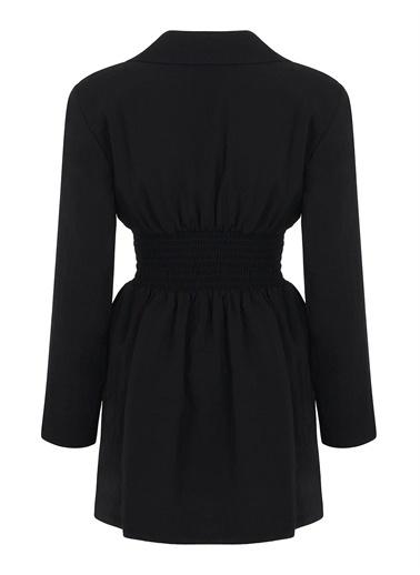 Nocturne Fermuarlı Ceket Elbise Siyah